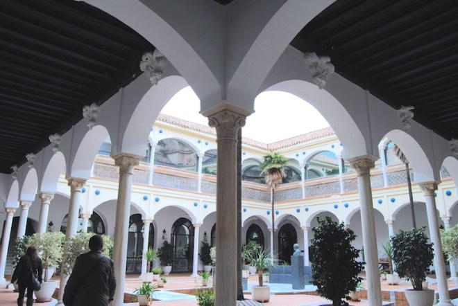 Cloître de l'église de la Victoire Malaga