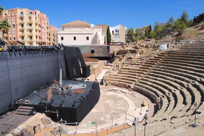théâtre romaine de malaga