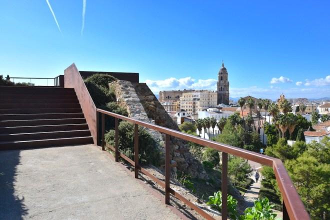 vues mirador alcazaba malaga nouvelle attraction touristique a malaga