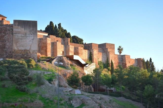 mirador alcazaba malaga belvédère