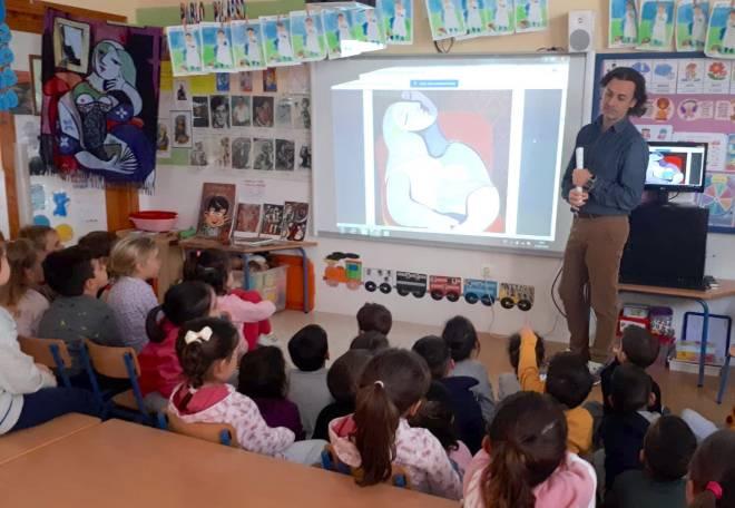 charla sobre picasso para niños