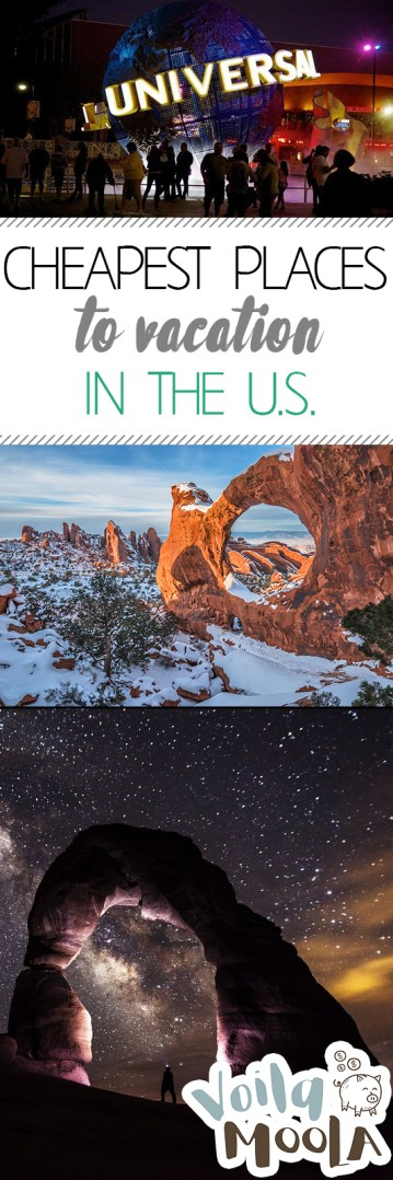 Cheapest Places to Vacation in the U.S.| Travel, Travel Hacks, Where To Travel, Where to Travel in the U.S., Cheap Vacation, Cheap Vacation Destinations. #VacationDestinations #Vacation #Travel #TravelDestinations