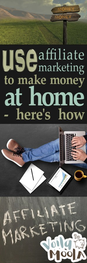 Use Affiliate Marketing to Make Money At Home – Here's How| Work From Home, Work From Home Jobs, Make Money, Side Hustle #MakeMoney #SideHustle #WorkFromHome