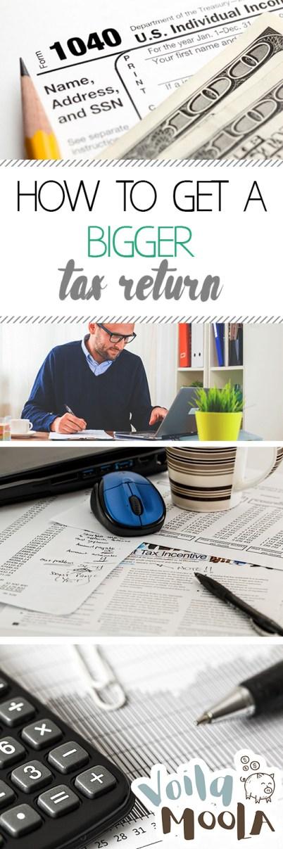 How to Get a BIGGER Tax Return| Tax Return, Get A Bigger Tax Return, Get More On Your Tax Return, Taxes, Make Money, Make More Money, Save Money #MakeMoney #Taxes