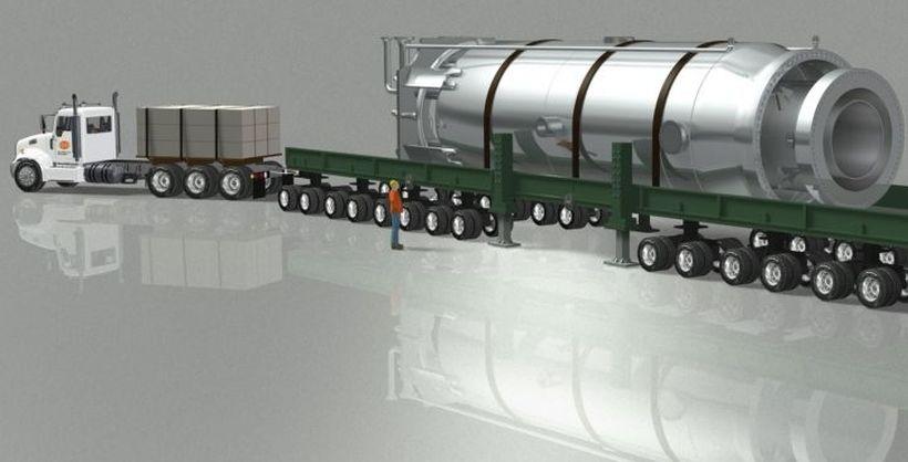 Примерно изображение на малък модулен реактор. Изображение: Energy Global News