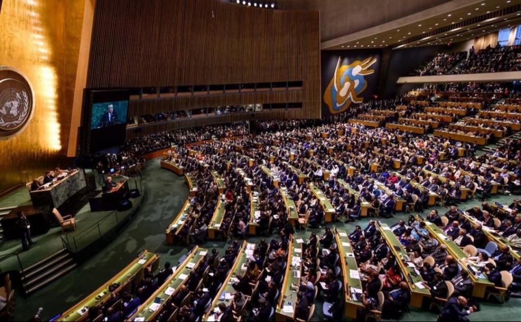 СССР в ООН и отмена реабилитации сионизма