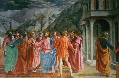 Le tribut de Saint Pierre, Masaccio