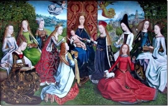 Comment reconnaitre des saintes par leurs attributs