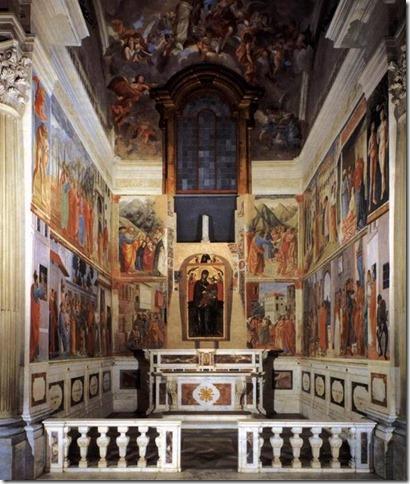 Chapelle Brancacci de l'église Santa Maria del Carmine à Florence