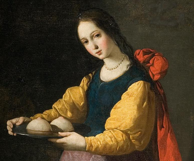 sainte agathe-zurbaran