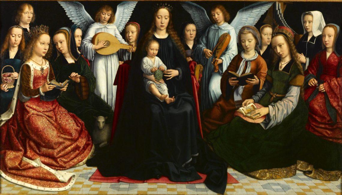 La Vierge parmi les vierges de Gérard David