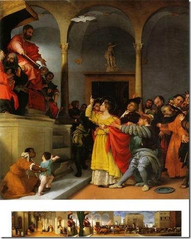 Le retable de Sainte Lucie, Lorenzo Lotto, Jesi, Italie