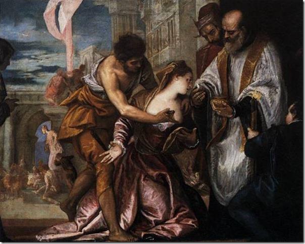 Martyre et communion de Sainte Lucie, Véronèse, National Gallery of Art de Washington