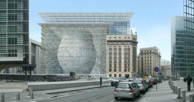 Nouveau siège de la commission européenne1