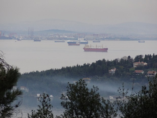 Istanbul à travers la brume