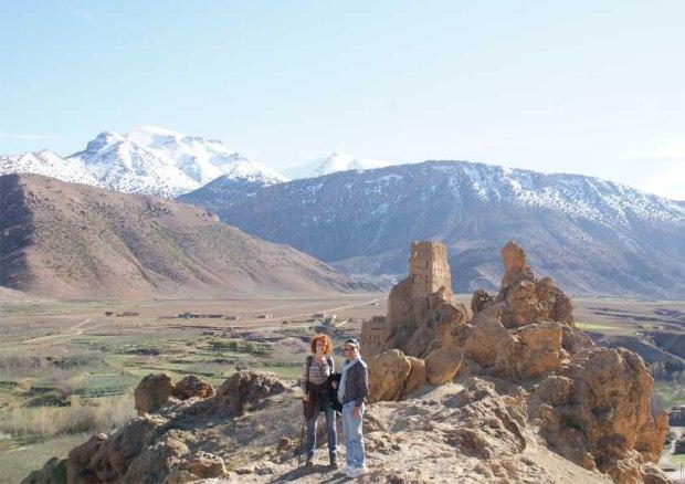 Photographie d'un paysage a 25 km de Beni Mellal