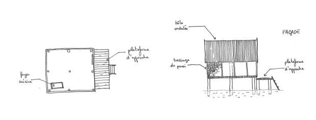 Plan & façade