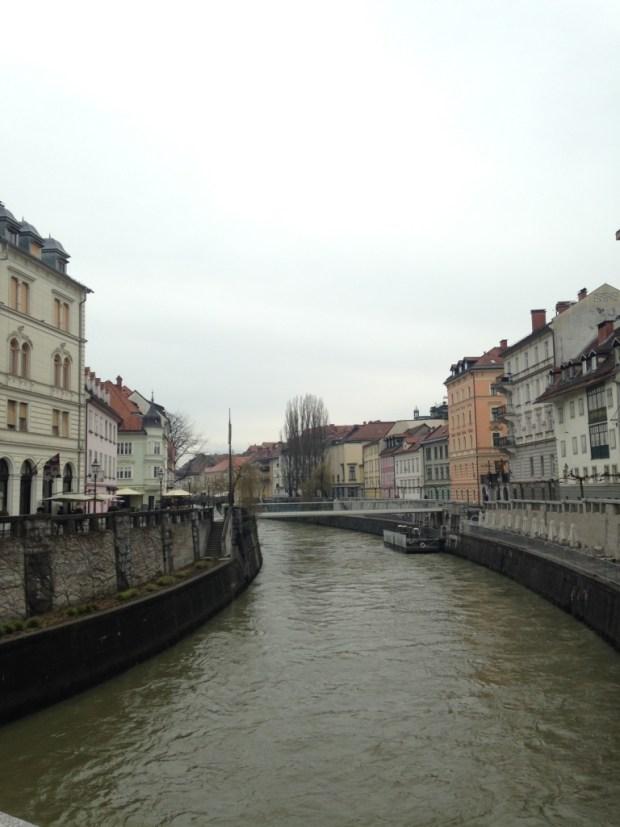 Vue de la Ljubljanica