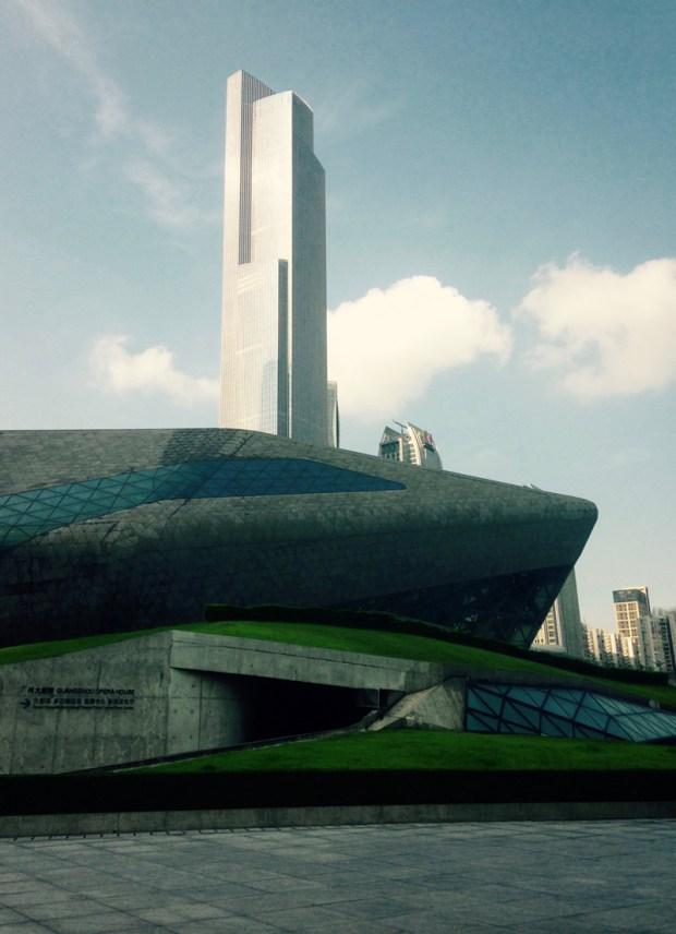 L'opéra de Guangzhou - Zaha Hadid