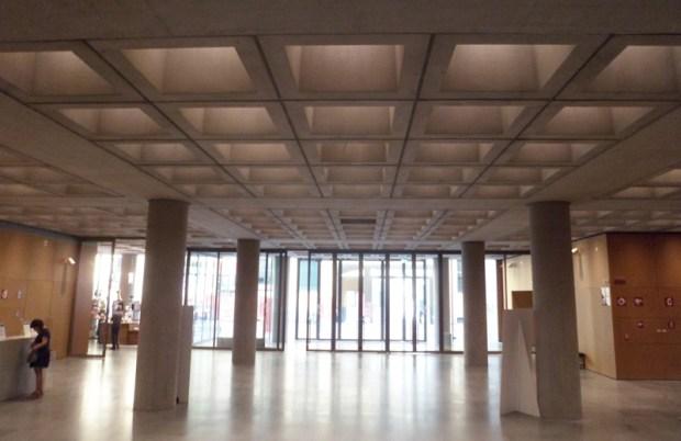 Hall d'entrée du MUDEC