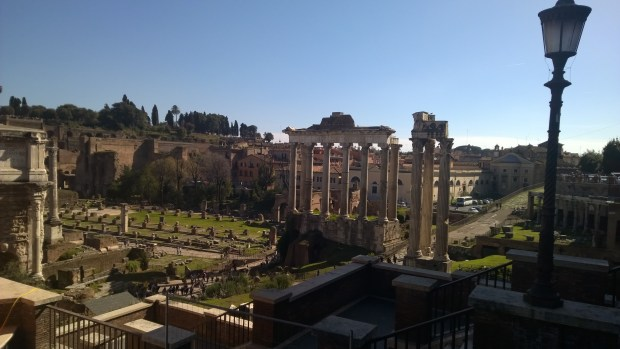 Le forum romanum, photo perso