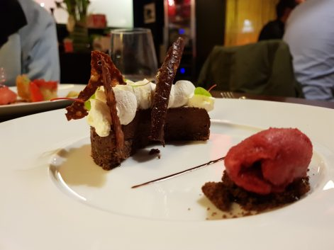 Chocolat, cardamome et griotte