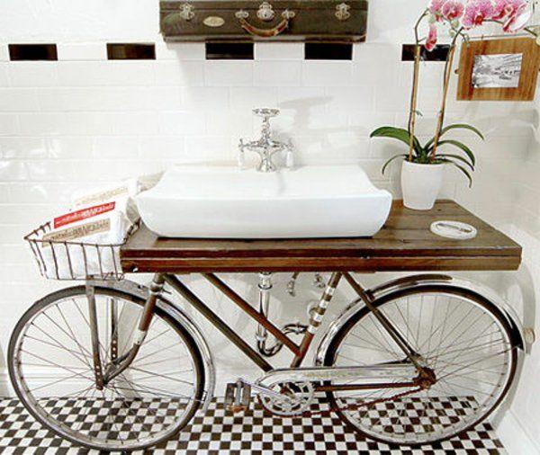 vélo lavabo