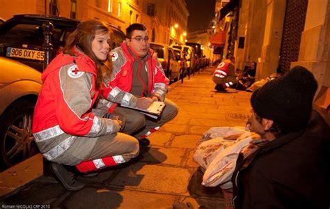 maraude de la Croix Rouge