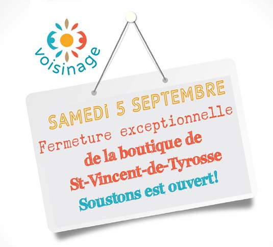 fermeture exceptionnelle tyrosse