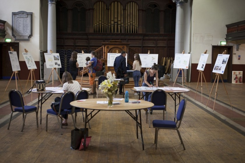 The Mapify Team's recent community consultation event for Mapify Upper Clapton (© Alex Pielak)