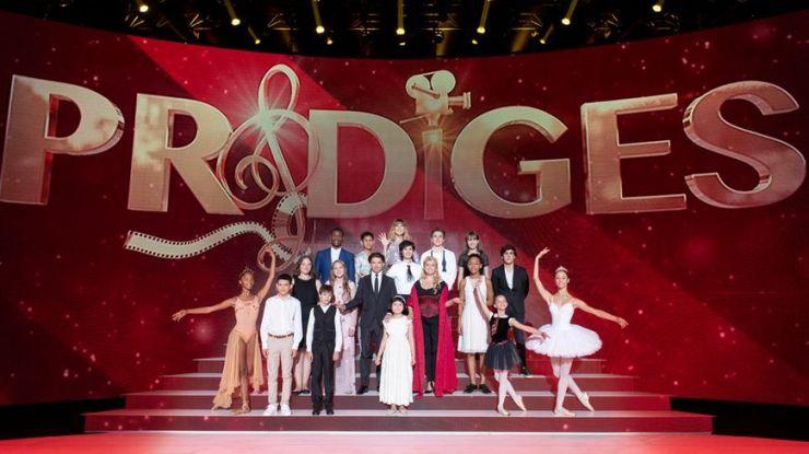 Photo des candidats de Prodiges 2018 saison 5 lors de la grande finale avec Andréas Prodiges 2018