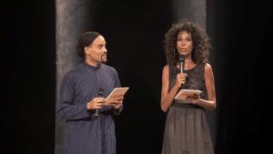 Concours Voix des Outre-mer Fabrice di Falco et Elizabeth Tchoungui
