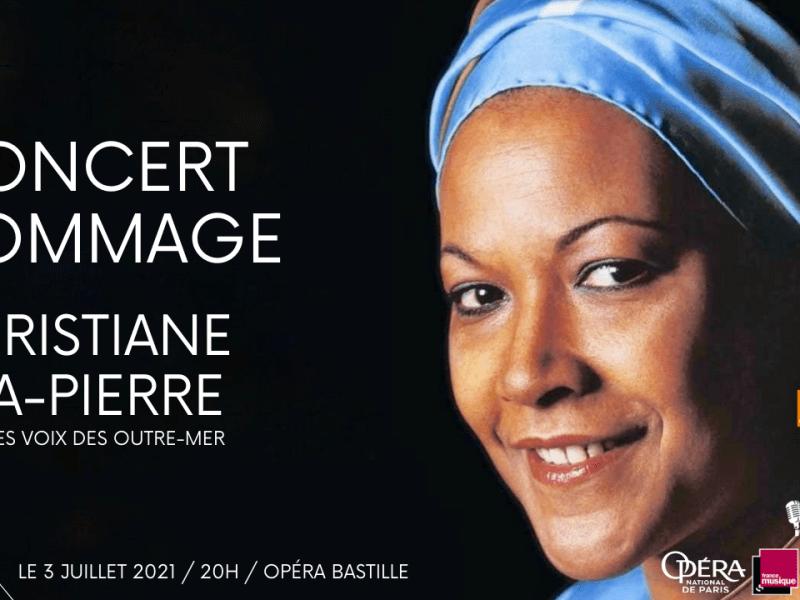 Concert Hommage à Christiane Eda-Pierre Voix des Outre-mer Visuel France musique