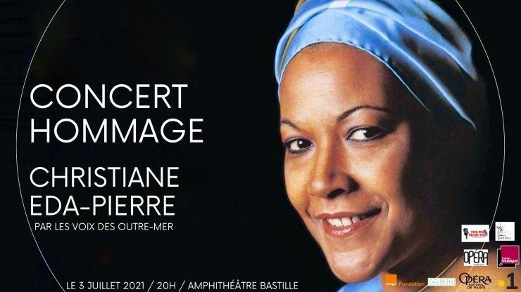 Concert Voix des Outre-mer hommage à Madame Christiane Eda-Pierre
