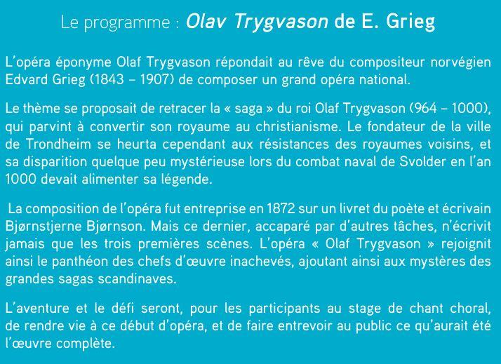 Présentation Olav Trygvason
