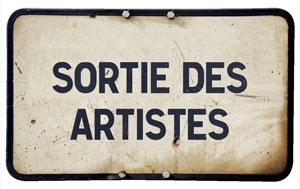 sorties des artistes|citation|