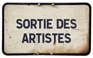 sorties des artistes|citation|