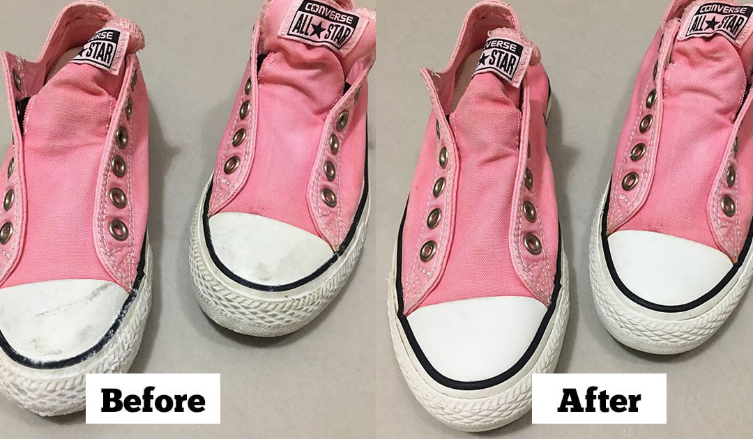 How To Remove Stains On White Rubber Soles