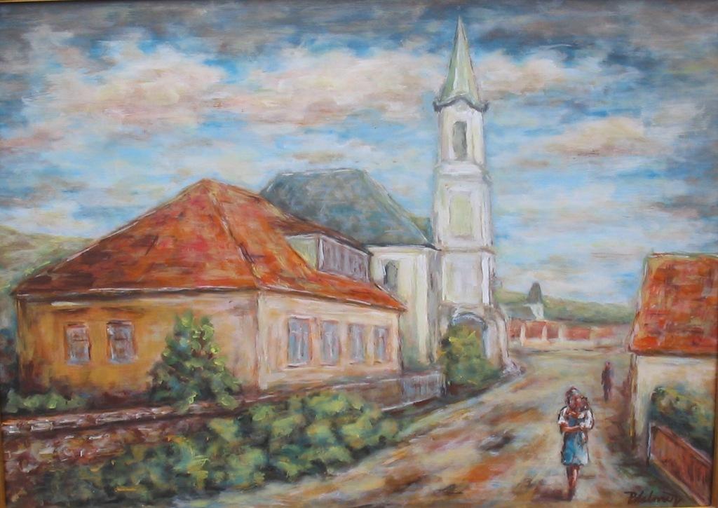 Evanjelický kostol s farou