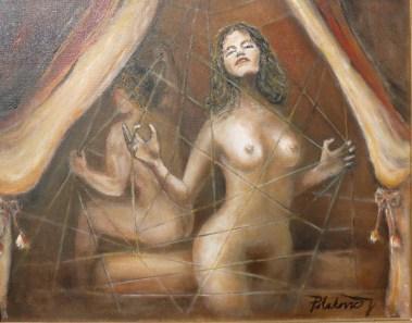 Afrodita a Ares v Hefaistovej sieti