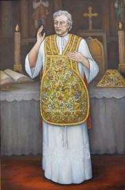 Móric Alster v ornáte, ktorý Račišdorfanom darovala Mária Terézia
