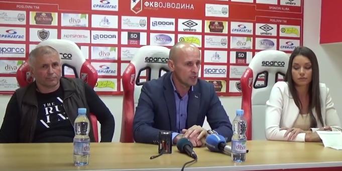 Vojvodina je danas poražena od Spartaka rezultatom 0:2