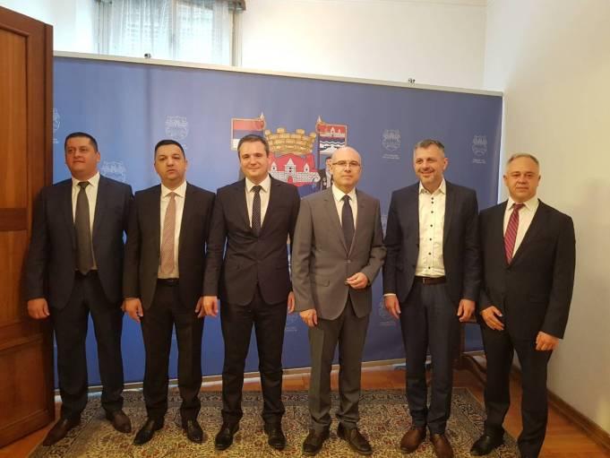 Градоначелник Новог Сада Милош Вучевић