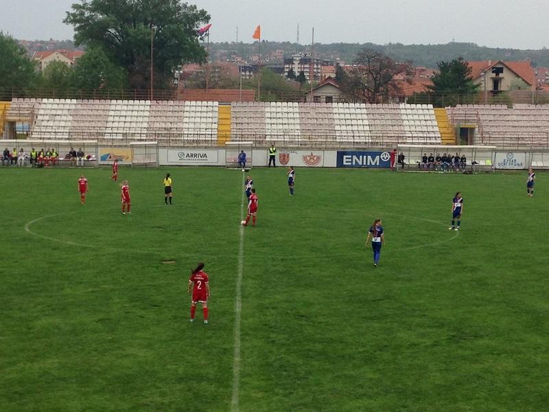 U poslednjoj utakmici pred fazu razigravanja fudbalerke Vojvodine