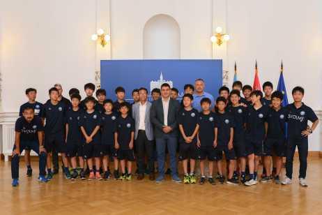 Члан Градског већа за спорт и омладину Огњен Цвјетићанин