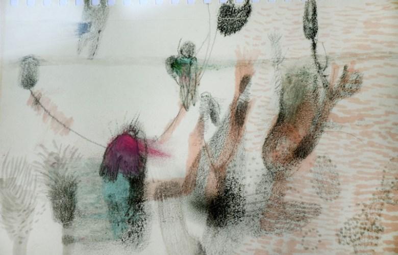 Изложба цртежа и колажа Татјане Јанковић Неделков од 08. јуна у Малом ликовном салону