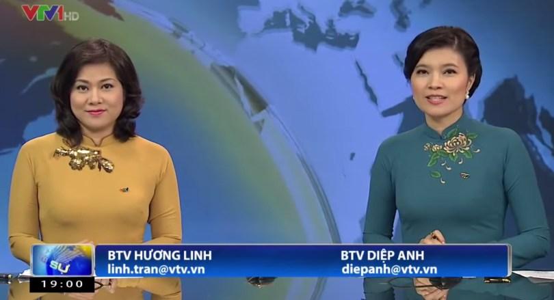 អ្នករាយការណ៍ទូរទស្សន៍ជាតិយួន (VTV) ថ្ងៃទី ១៨ ខែសីហា ឆ្នាំ ២០១៤ ។