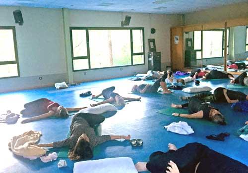 Yogasalen på Gran Canaria