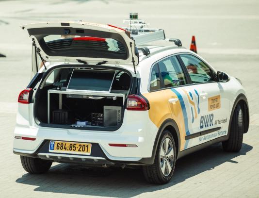 Israeli Startup Blue White Robotics Raises  Million for Autonomous Vehicle Platform