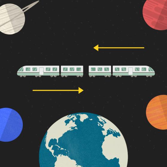 Asalto al tren es un cuento de Tony Jim, un autor de ciencia ficción ligera con toques de humor.
